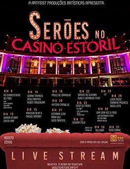 Catarina Clau, Vânia Blubird e Nuno Martins – Serões no Casino Estoril