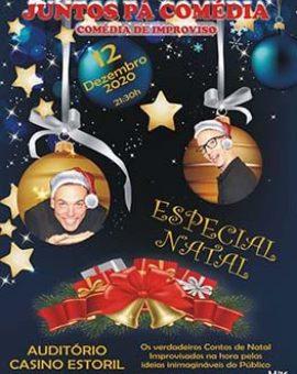 Juntos Pá Comédia – Especial Natal