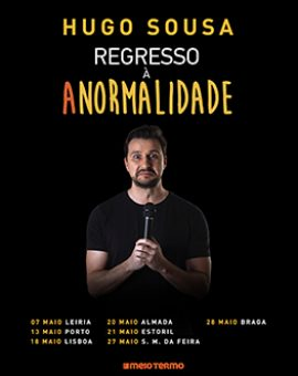 Hugo Sousa – Regresso à Anormalidade